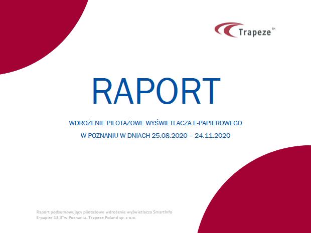 Raport z wdrożenia e-papieru w Poznaniu